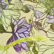 mermaids_swimming_in_lotus plants