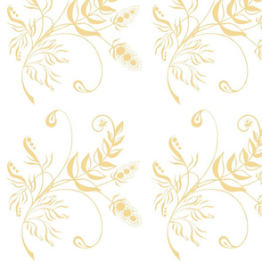 Floral gold fantasy