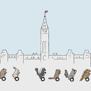Segway tour of Ottawa teatowel