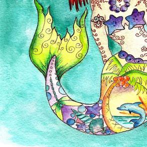 laundry bags mermaid