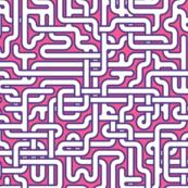 hospital corridors - pink