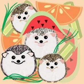 Hedgies love fruit !