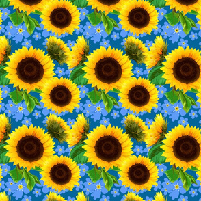 seamless_pattern_of_sunflowers_with_forget-me-not_flowers