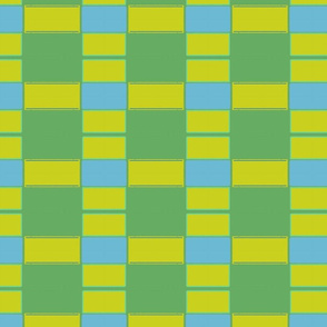 Menny Plaid/blue & green