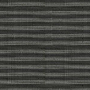 Crane & Kanji Coordinate Stripe - charcoal gray