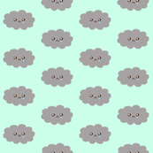 Cute Rain Clouds