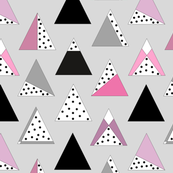 Polka dot triangles - Berry
