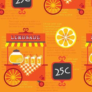 lemonade cart