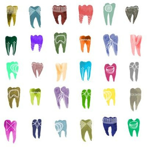 Colorful Teeth