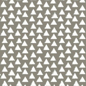 White and Gray Triangles