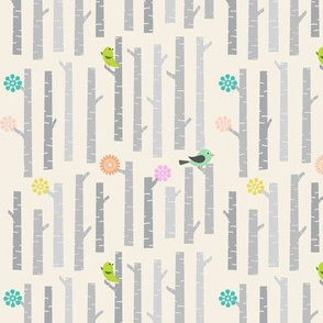 Woodland_Birch_and_Birds