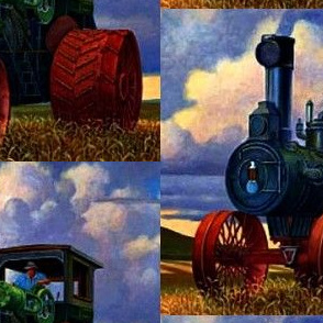 Case Steam Tractor