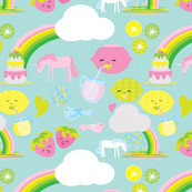 Unicorns Lemonade and Rainbows