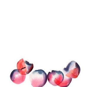 Watercolour fruit