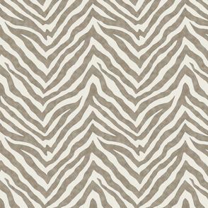 Zebra / Taupe