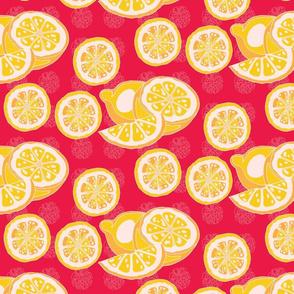 Ruby Red/ Lemons