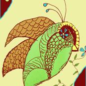 Lovebirds Doodle