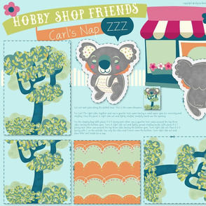 Hobby Shop Friends- Carl's Nap