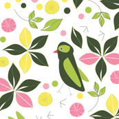 Birds In the Lemon Grove