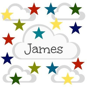 Cloud Stars - primary Personalized