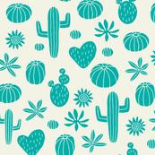 Cacti turquoise