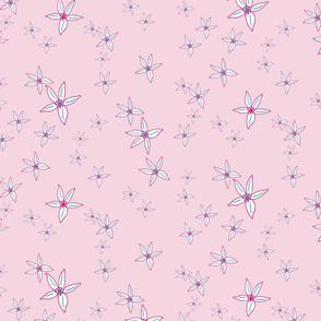 Pink Lemon Flowers