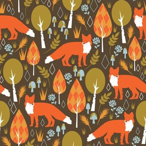 The Offbeat Argyle Fox - Small Scale
