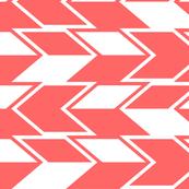 Coral Herringbone