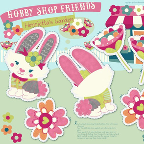 Hobby Shop Friends - Henrietta's Garden
