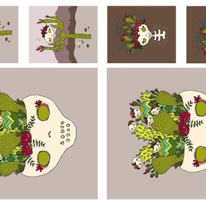 cactus pillow trio 2