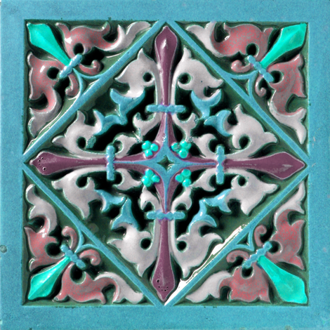 Early Victorian Tile ~ Portofino