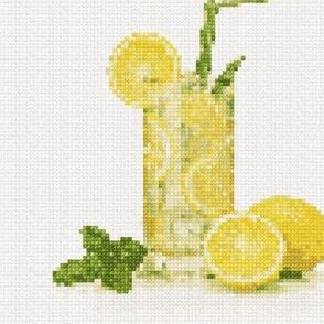 'Lemonade Cross Stitch'