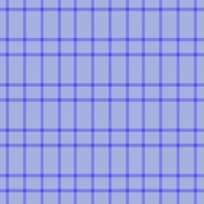 periwinkle plaid medium