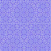 Periwinkle flower tile