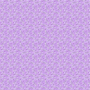 Agility hearts and paws - small purple