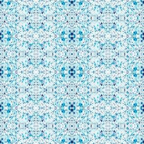 SPLASH PATTERN BLUE & LILAC