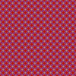 RedandPurpleflowercircles
