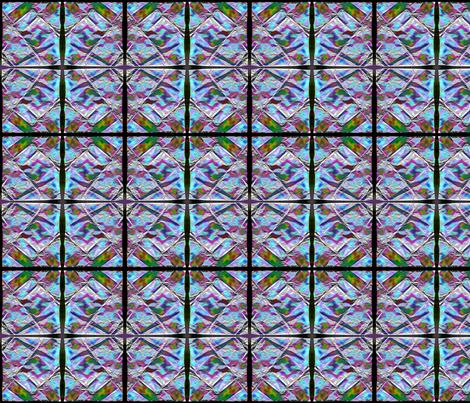 Folded tissue - blue