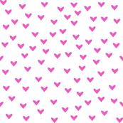Little Fuchsia Hearts