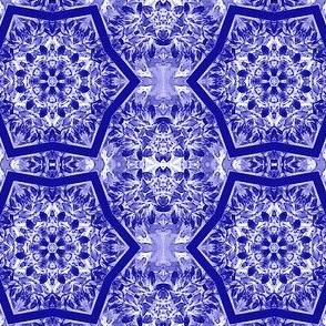 Kaleidoscope  - navy