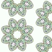 Petals - grey green