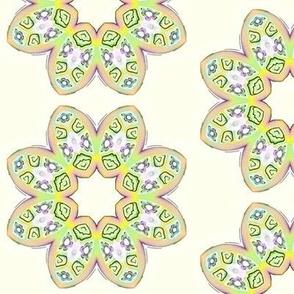 Polymer Clay Petals  multi