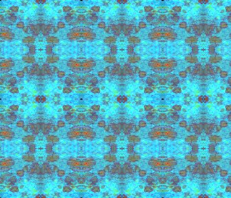 tissue  dye -  blue