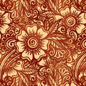 Mehndi brown