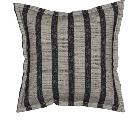 Pongee Stripe - black/white