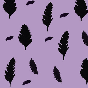 Leafty Bold Purple / Lady Cat™