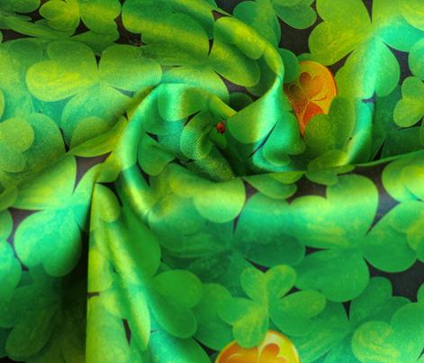 Magic leprechaun clovers