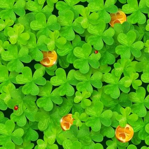 Magic leprechaun clovers