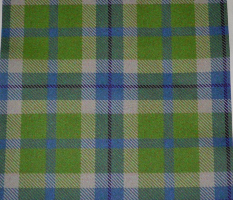 Blue, Green and Navy Plaid