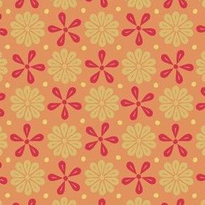 Peoria Re - Flowers (Orange)